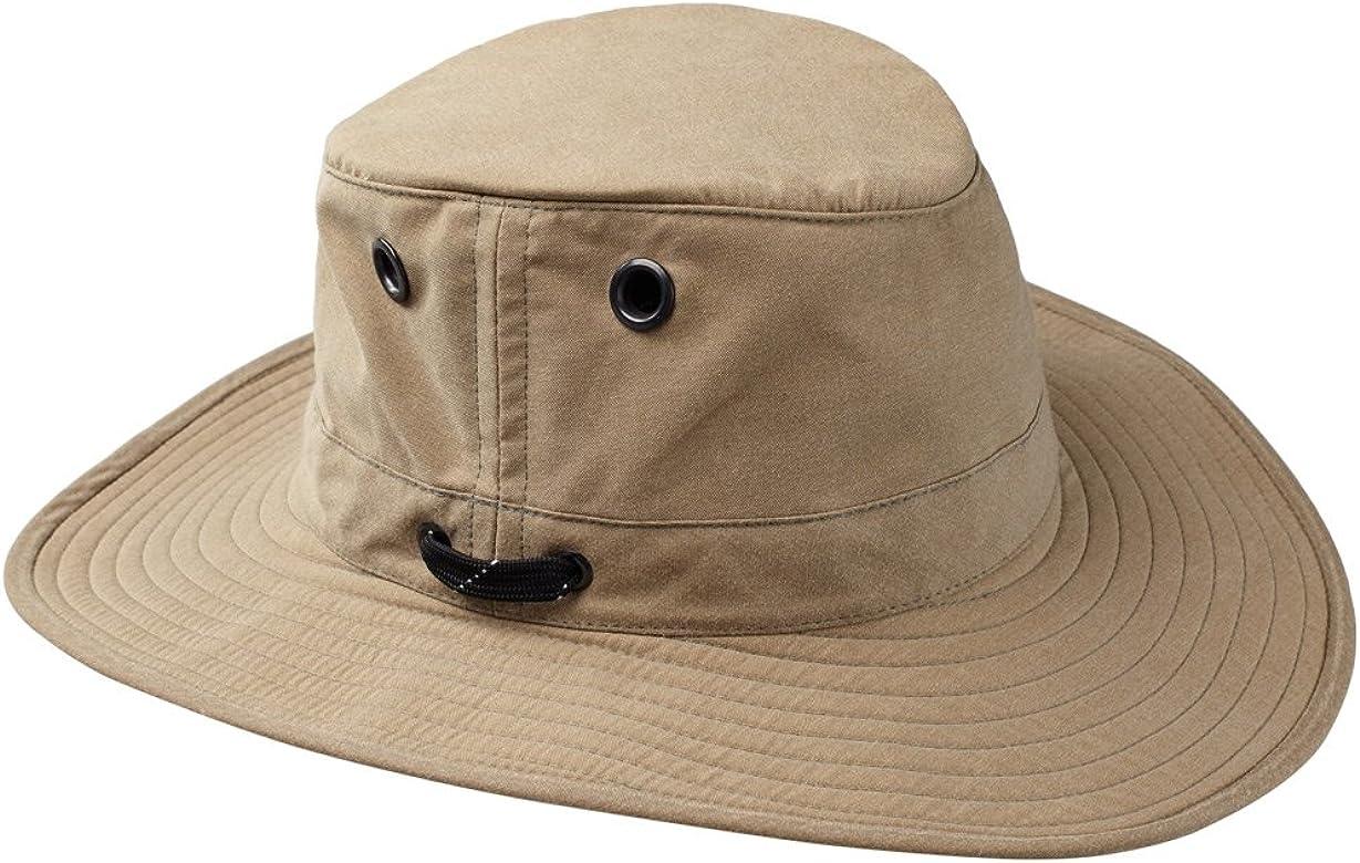 Tilley LWC55 Lightweight Waxed Cotton Hat Tan