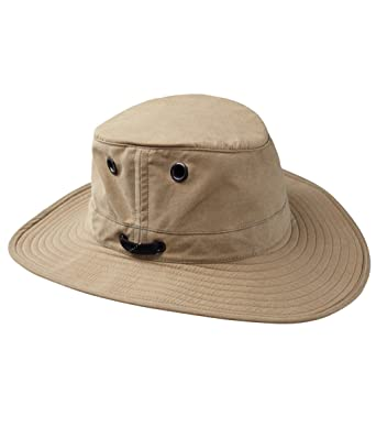 Tilley LWC55 Lightweight Waxed Cotton Hat  Amazon.co.uk  Clothing 11166df4131b