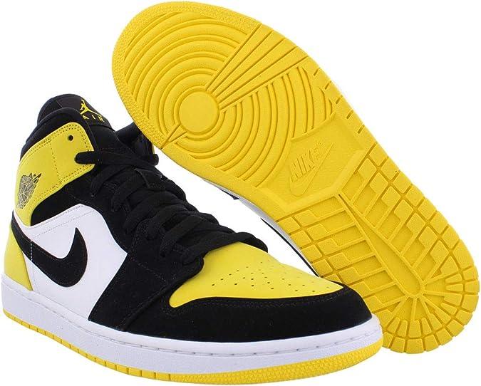 air jordan 1 jaune et noir homme
