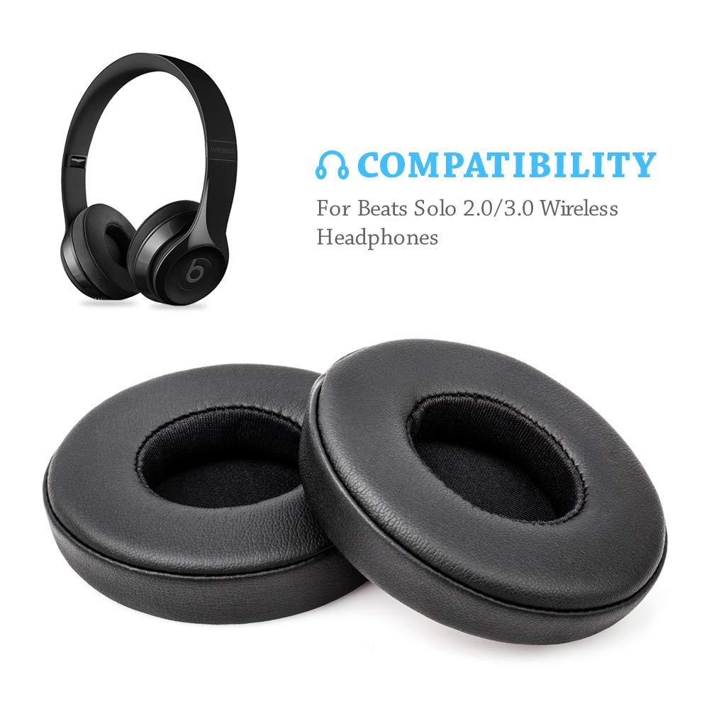 Almohadillas Para Auriculares Beats Solo 2 Y 3 Wireless Negras