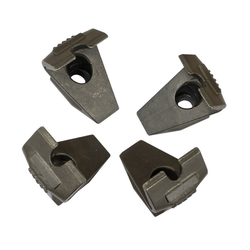 Metal Replacement Rim Clamp Jaw Set Coats Tire Changer 4 pc by XK USA