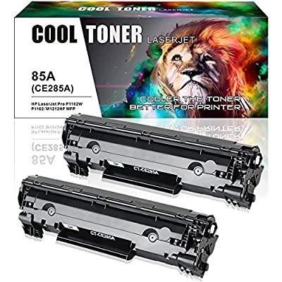 Cool Toner 2 Pack Compatible 85A Toner CE285A Laser Toner Cartridge Replacement for HP 85A CE285A Laserjet P1102W Toner CE 285A