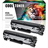 hp 1600 color laserjet printer - Cool Toner 2 Packs 1,600 Pages Compatible Toner Cartridge Replacement for HP 85A CE285A CE285 Toner Replacesfor HP LaserJet Pro P1102W P1102 M1212NF M1217NFW MF3010 M1210 M1132