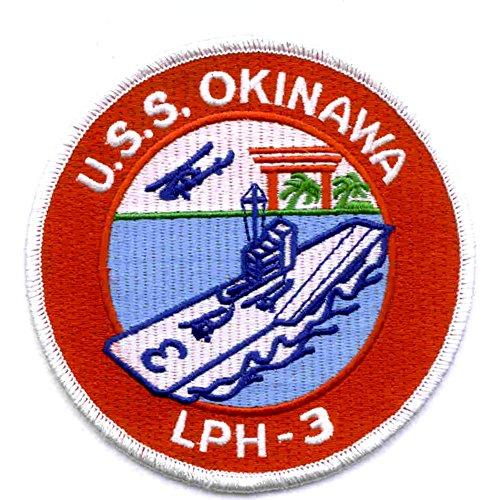USS Okinawa LPH-3 Amphibious Assault Ship Patch ()