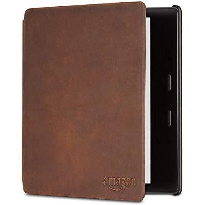 Funda de cuero de alta calidad para Kindle Oasis — únicamente compatible con el modelo de la 9.ª generación (modeli de 2017) y 10.ª  generación (modelo de 2019)