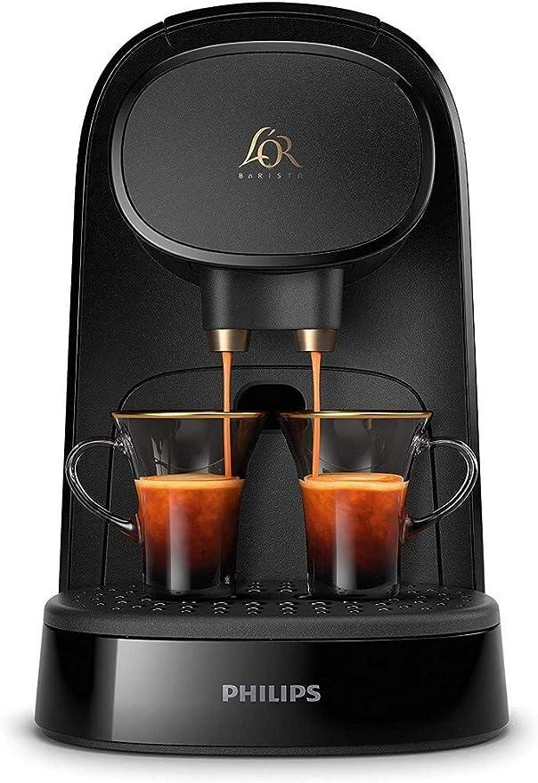 Cafetera espresso automática Philips LOR Barista System LM8012/40 para cápsulas LOR y Nespresso: Amazon.es: Hogar