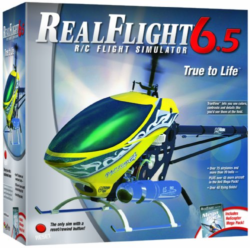 Great Planes RealFlight 6.5 Heli Edition Mode 2 with InterLink (Realflight Expansion Pack)