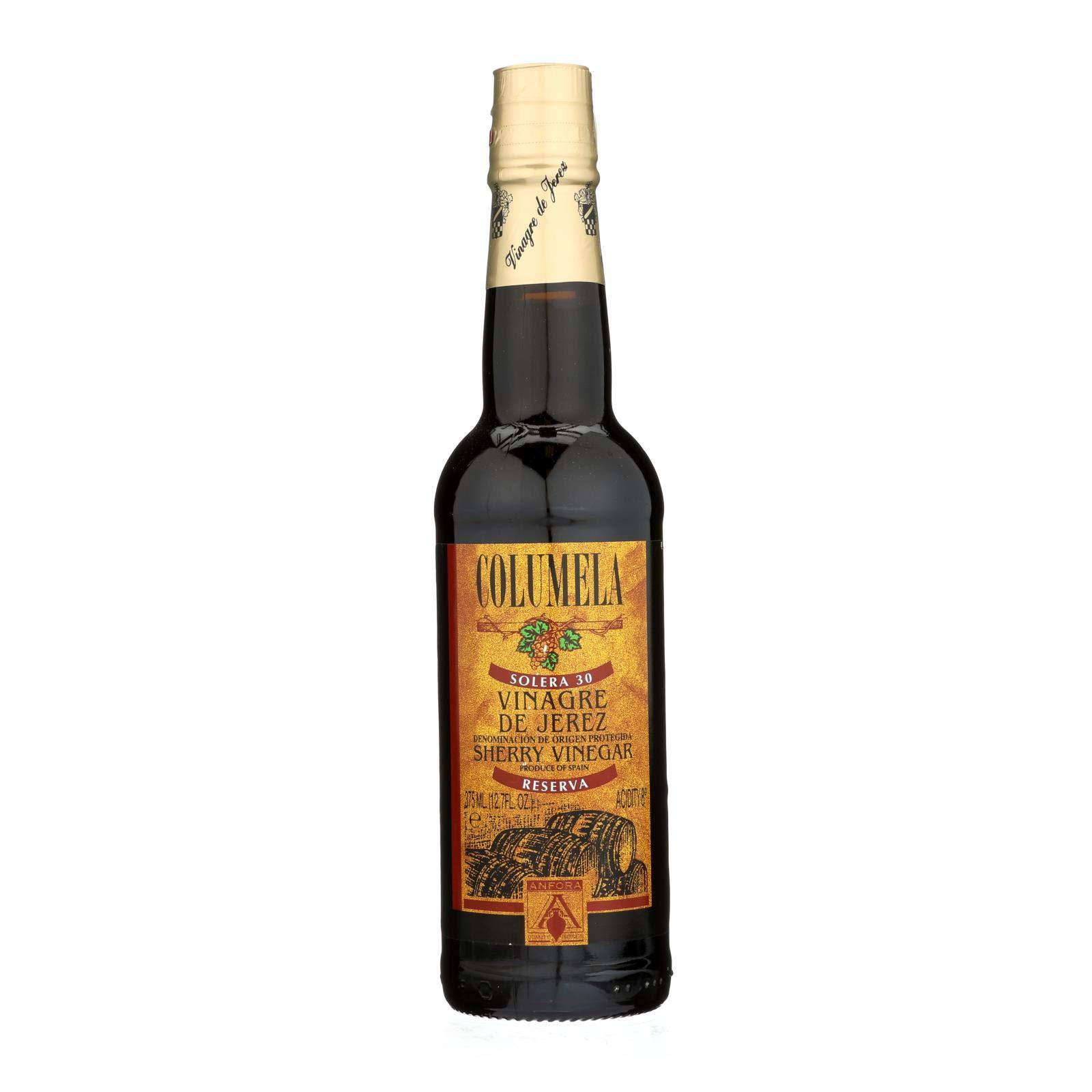 Columela Sherry Wine Vinegar - Case of 6 - 12.7 Fl oz. by Columela