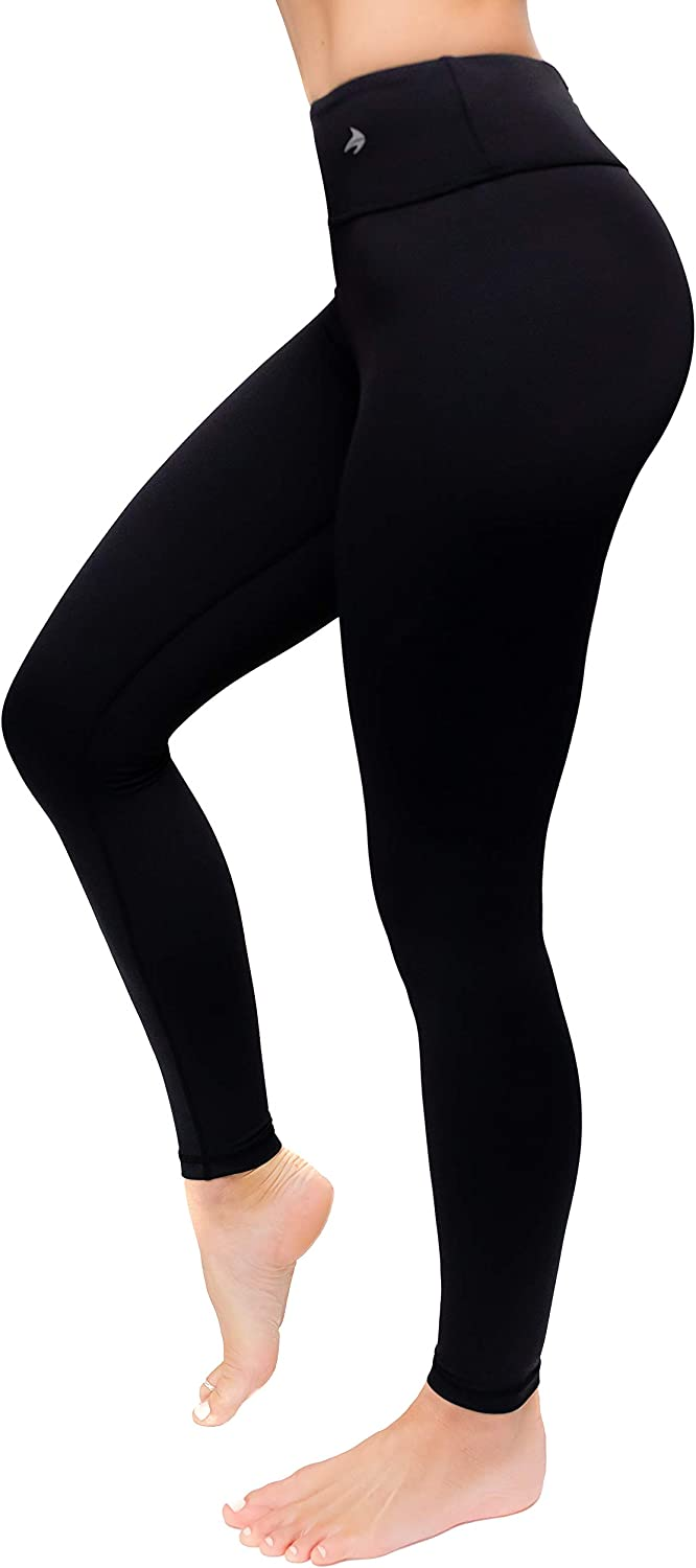 Amazon.com : CompressionZ High Waisted Women's Leggings - Compression Pants  for Yoga Running Gym & Everyday Fitness : Clothing