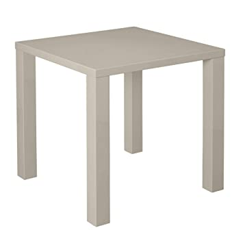 c562d34207a Xpress Delivery Puro small dining table in stone gloss  Amazon.co.uk   Kitchen   Home