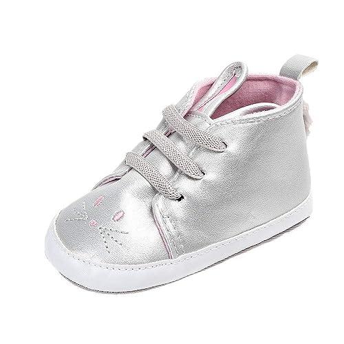Zapatillas Bebe, ❤ Zolimx Linda Zapatos Bebe Niña Recién Nacido Bebé Conejo Casual Primeros Pasos Caminantes Zapatos de Niño: Amazon.es: Zapatos y ...