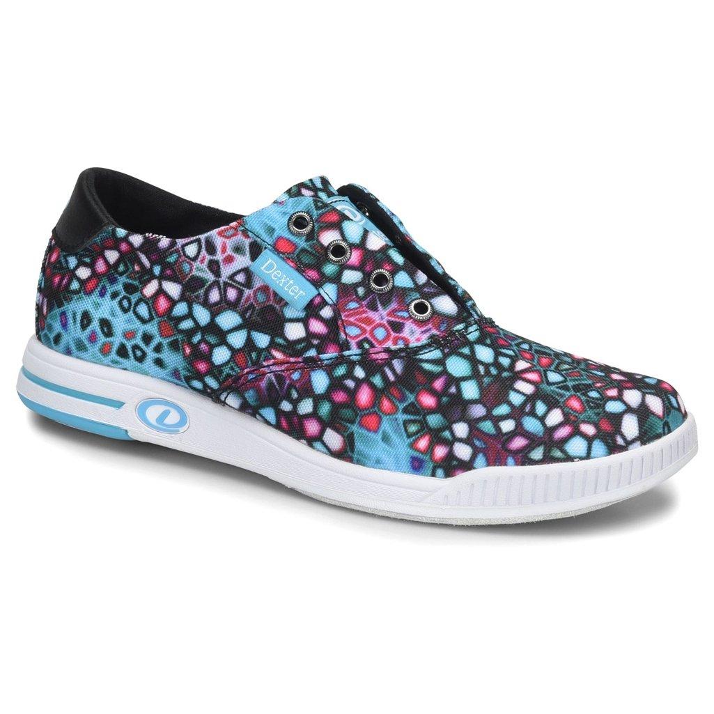 Dexter Womens Kerrie Bowling Shoes- Black/Multi Dexter Bowling Shoes