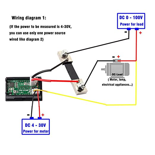 Diagram For Wiring And Amp Meter Shunt - Wiring Diagram Perfomance on