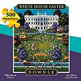 Jigsaw Puzzle - White House Easter Egg Roll 500 Pc By Dowdle Folk Art