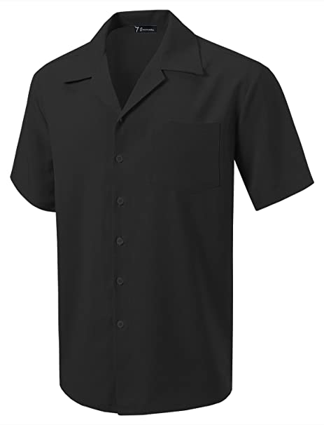 7 Encounter Men's Camp Dress Shirt by 7 Encounter