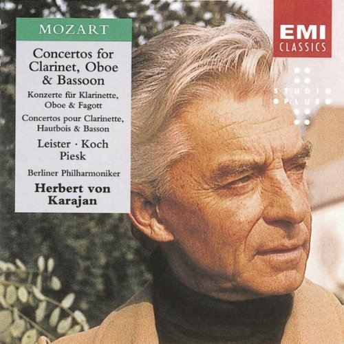 Concertos For Clarinet, Oboe & Bassoon - Mozart