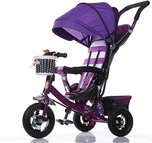 PGYCTBLF Sillita Triciclo Infantil Plegable Bebé Sillita De Paseo ...
