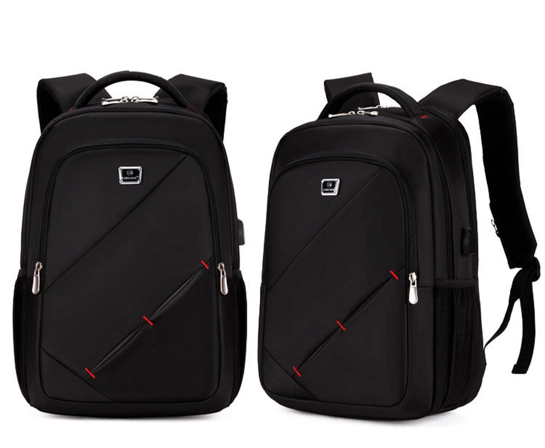 3ae0c5ea2d803 Shuaibo Laptoptasche bis 15.6 Zoll USB Lade Rucksack Computertasche  Notebooktasche gepolstert  Amazon.co.uk  Luggage