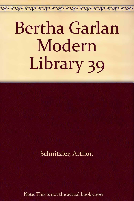 Bertha Garlan Modern Library 39