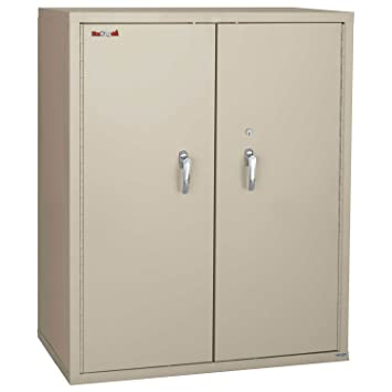 FireKing Fireproof Storage Cabinet With End Tab Inserts, 36 X 19 1/4