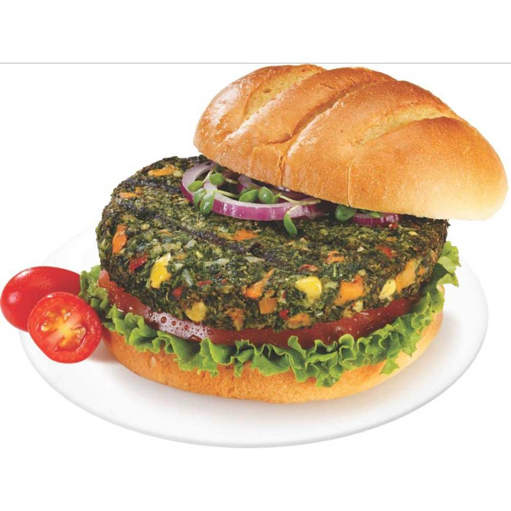 Dr Praegers 5.5 Ounce Jumbo Kale Veggie Burger, 10 Pound - 1 each.