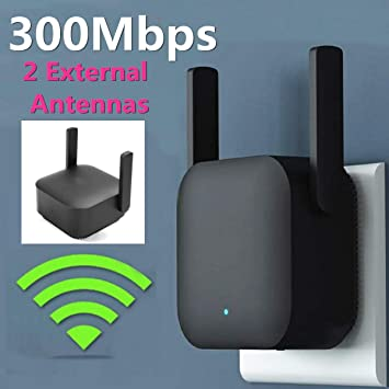Fhai Amplificador Señal WiFi Repetidor Inalámbrico WiFi Ruta ...