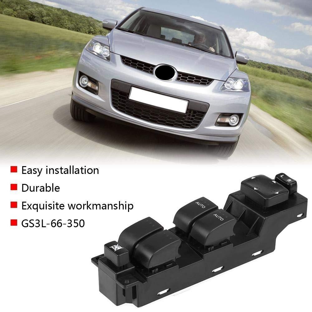 KSTE GS3L-66-350 ventana de coche de la energ/ía el/éctrica del interruptor de control maestro for Mazda CX7 2007-2012