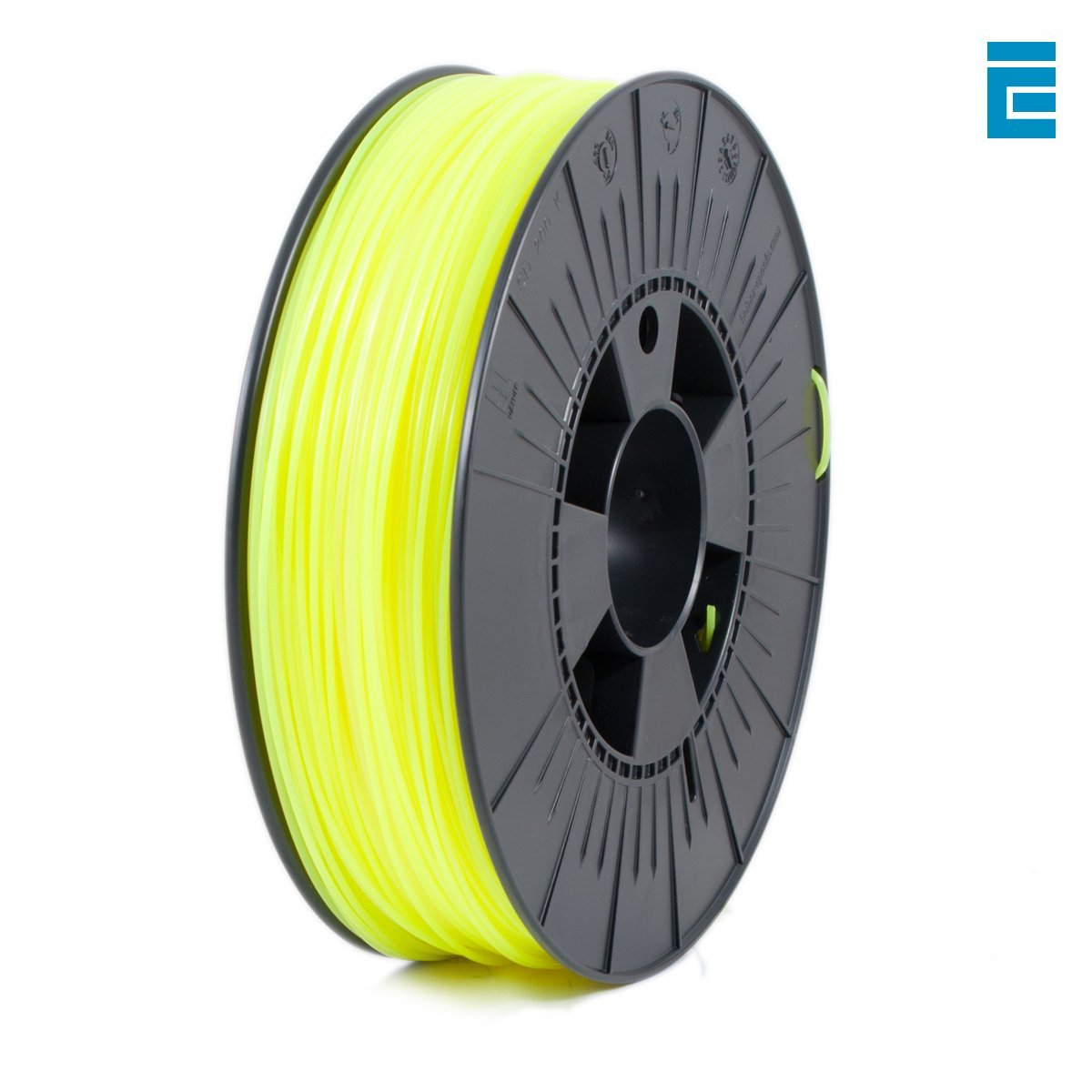 ICE Filaments ICEFIL1PLA037 filamento PLA,1.75mm, 0.75 kg, Fluo ...