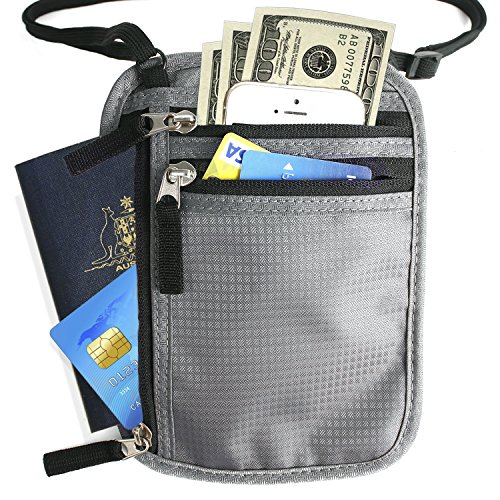 Unigear Passbook Anti theft Adjustable RFID Blocking