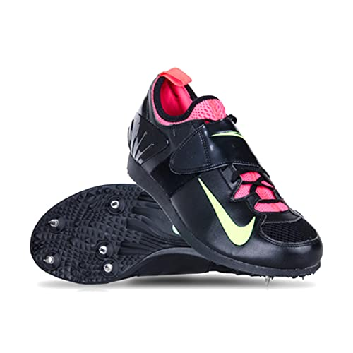 f85632170210f Nike Zoom PV Pole Vault 3 Track Spikes Shoes Black Mens Size 14  Amazon.ca   Shoes   Handbags