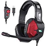 EasySMX Gaming Headset PS4 Headset with 7.1 Surround Sound