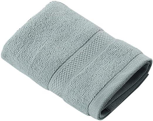 PSSYXT Toalla de baño Toallas de baño de Playa de algodón 100% baño Toalla Gruesa sólido para Toallas de baño de Cara de Ducha Suave para Adultos, Gris Claro, 76X152: Amazon.es: Hogar