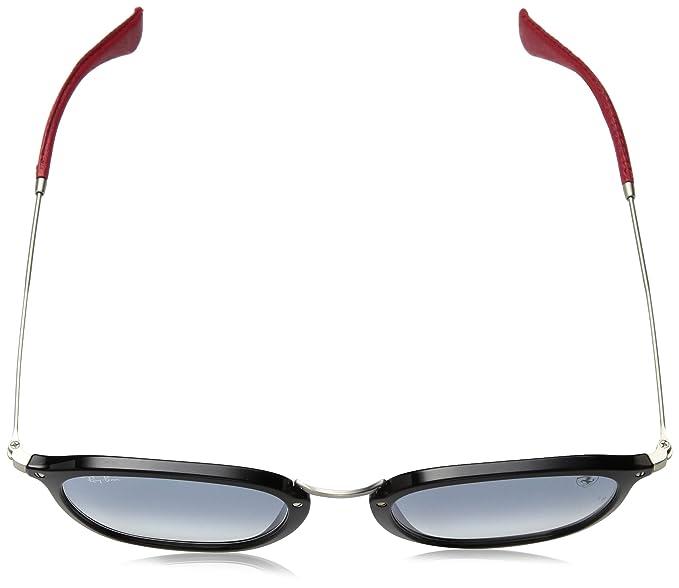 483ab10c81 Amazon.com  Ray-Ban RB2448NM Scuderia Ferrari Collection Sunglasses  (Black Silver
