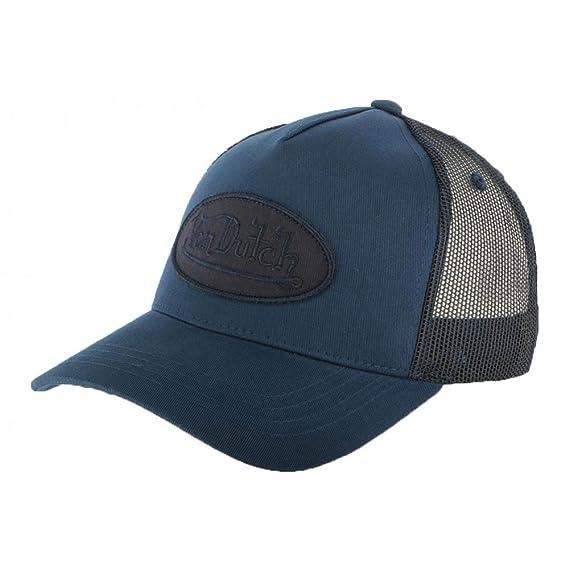 8f1047fa0d8 Von Dutch Baseball Cap Blue BM - Unisex - Blue - One Size  Amazon.co.uk   Clothing