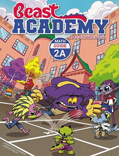 AoPS 2-Book Set : Art of Problem Solving Beast Academy 2A Guide and Practice 2-Book Set