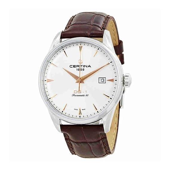 Certina DS-1 Reloj de hombre automático 40mm C029.807.16.031.01: Amazon.es: Relojes