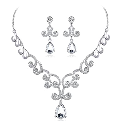fdfb68c3124 L-fannitily Newest Luxury Sparking Brilliant Cubic Zircon Clear ...