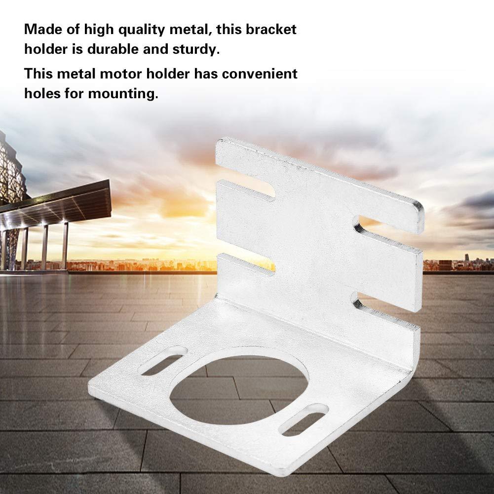 Supporto staffa motore Base fissa superiore supporto staffa motore alta durezza in metallo nero