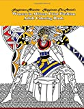 Women in African Print Fashion Adult Coloring Book (Coloring Book for Adults) (Volume 1)