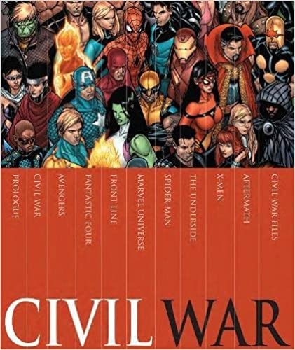 Civil War Box Set: '2016/03/15 9780785196945 Comics at amazon