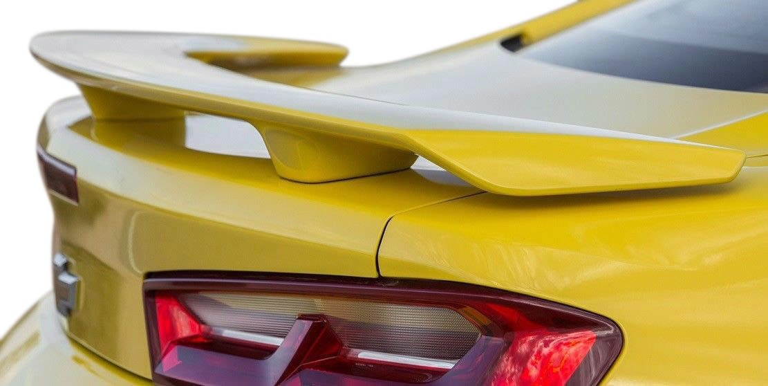 Factory Style Spoiler for the Camaro 2016-2018 Painted in the Factory Paint Code of Your Choice 568 Switchblade Silver 636R