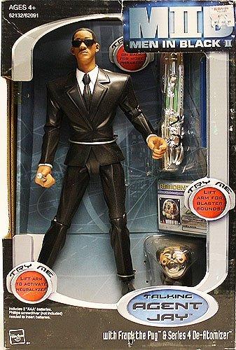 Hasbro Men In Black Ii Talking Agent Jay With Frank The Puq Series 4 De Atomizer