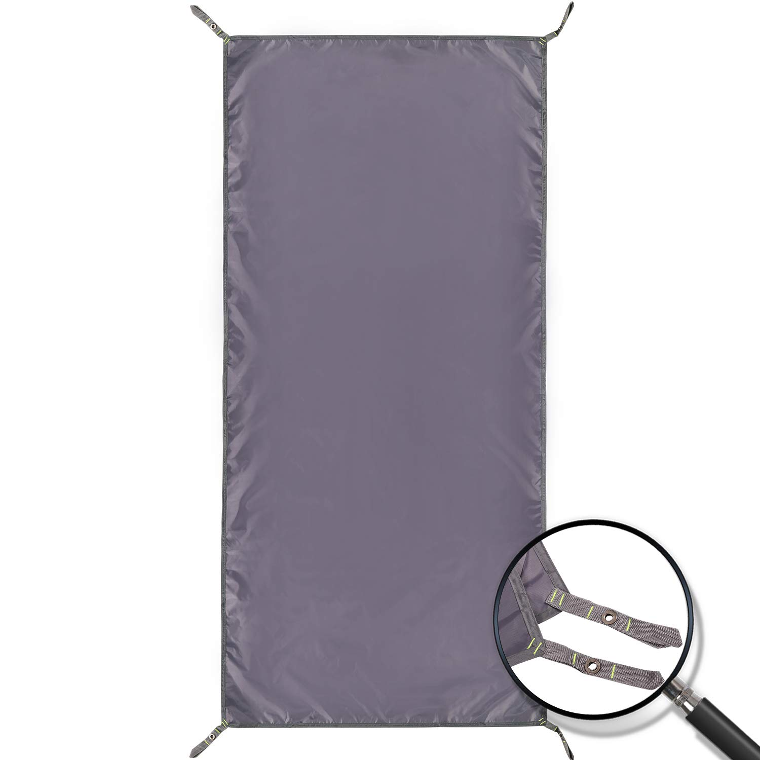REDCAMP Waterproof Camping Tent Tarp - 36''x83'', 4 in 1 Multifunctional Tent Footprint for Camping, Hiking and Survival Gear, Lightweight and Compact by REDCAMP