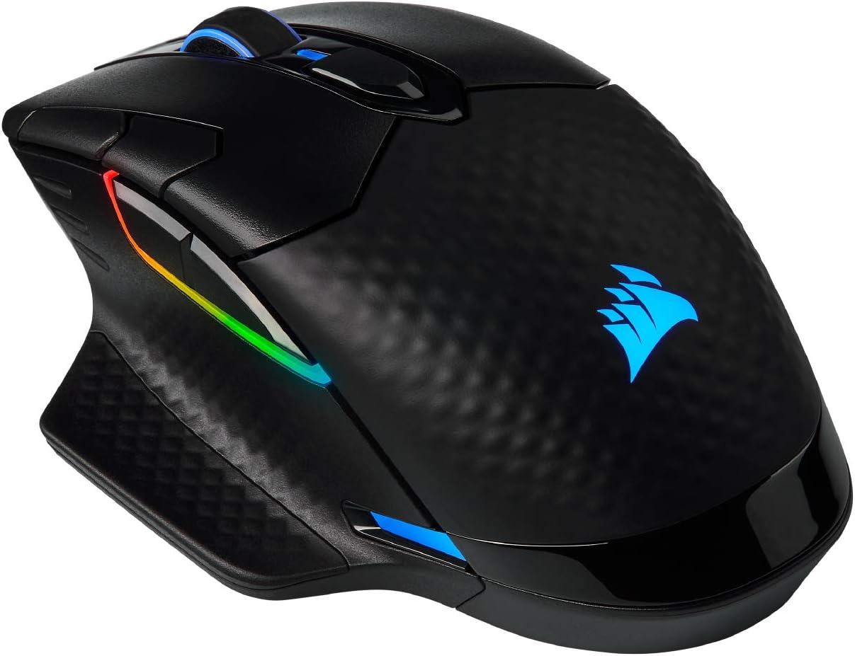mouse gamer Corsair Dark Core RGB Pro SE carga inalambrica