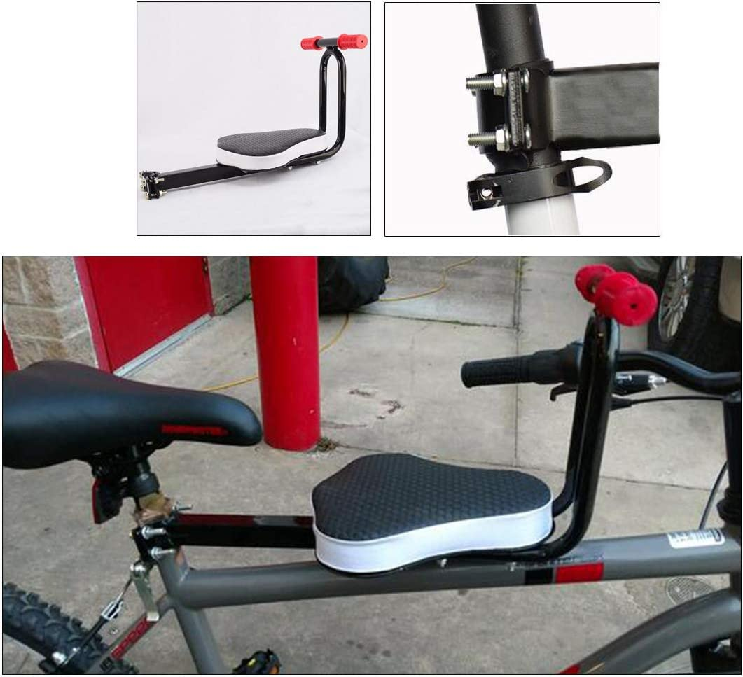 ACAMPTAR Detachable Bicycle Safe-T-Seat Children Bicycle Seats Bike Front Seat Chair Carrier Outdoor Sport Protect Seat