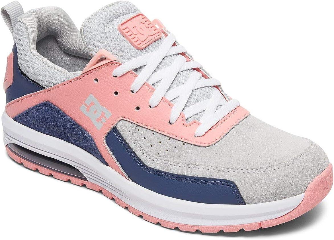 DC - Chaussures Vandium Se Lowtop pour Femmes Gris Rose