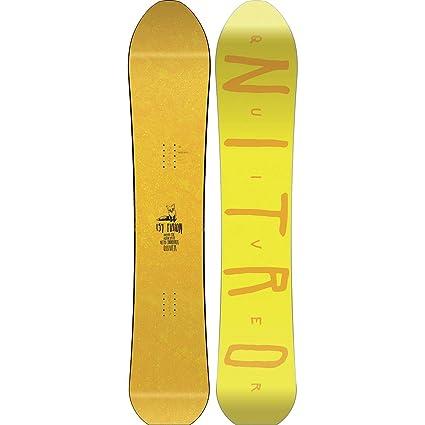 Amazon com : Nitro Quiver Fusion Snowboard - Men's : Sports