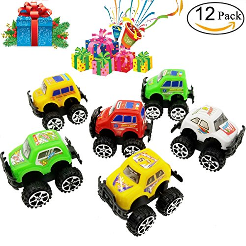Sackorange-Pull-Back-Car-12-Pack-Assorted-Off-road-vehicle-car-toy-Toys-Vehicles-Truck-Mini-Car-Toy-for-Boys-Kids-Toddler-Party-Favors-Random-color