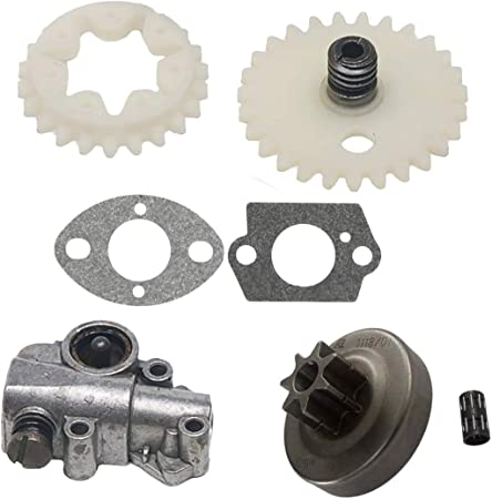 Chain Oil Pump Spur Gear Wheel for Stihl 038 048 MS380 MS381 Chainsaw