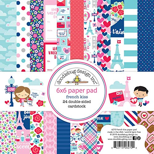 (Doodlebug FK6270 Double-Sided Paper Pad 6
